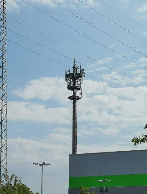 5G-Mast Karlsruhe